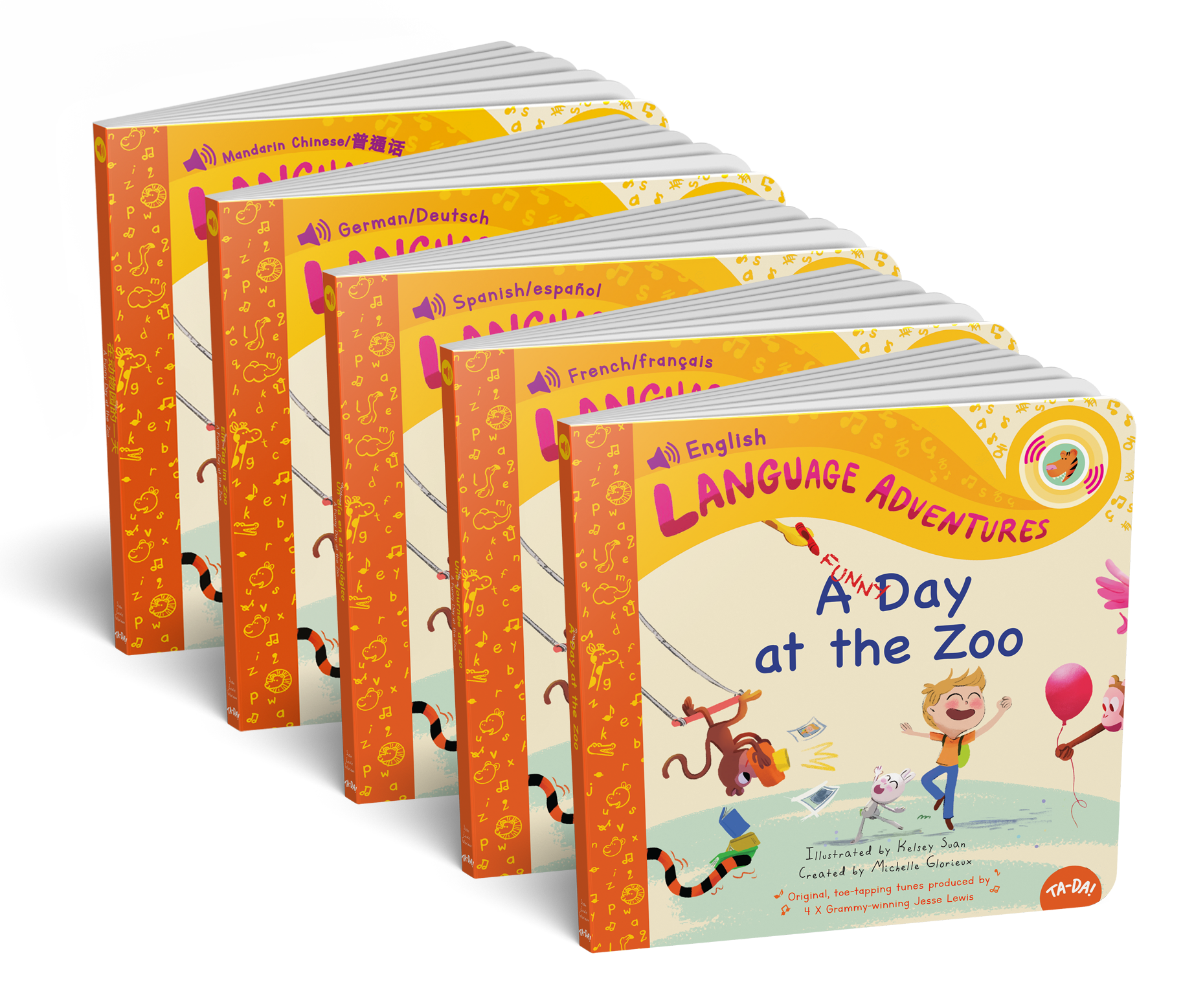 0-5+ years olD - Language Adventures Sound Book Series