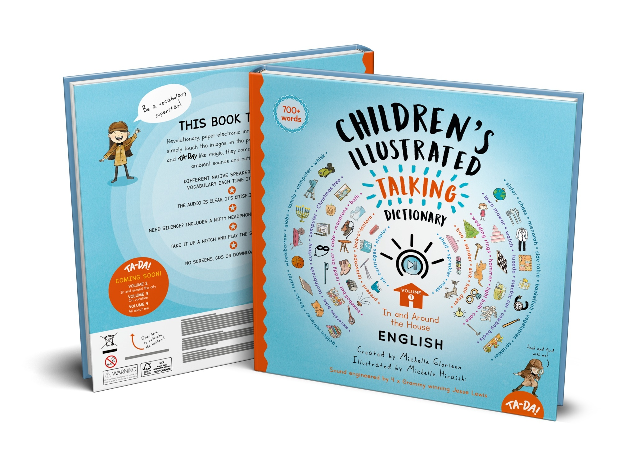 6-12+years old - Illustrated Talking PicturE DictionarY Series