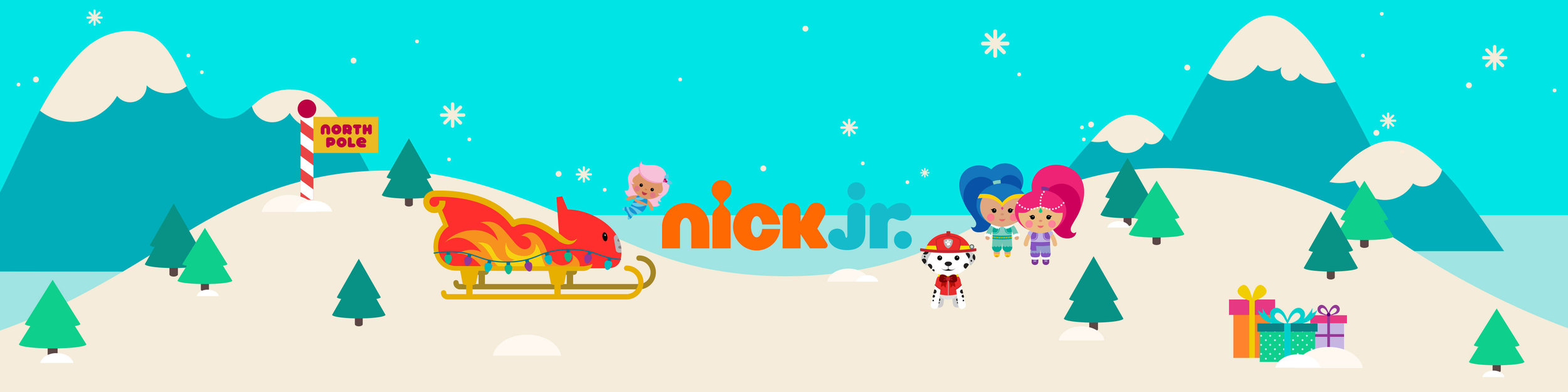 Nick Jr.  Apple Promotional Art