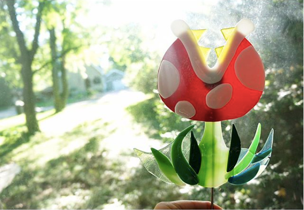 Super Mario Garden Decoration by Yurie Kim