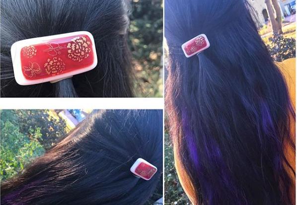 Hair Clip by Yurie Kim