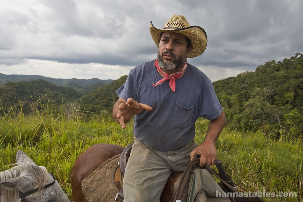 Joe Martinez of Martz Farm in Belize.