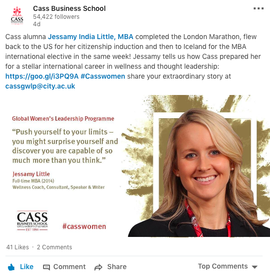 Cass Notable Women in Business