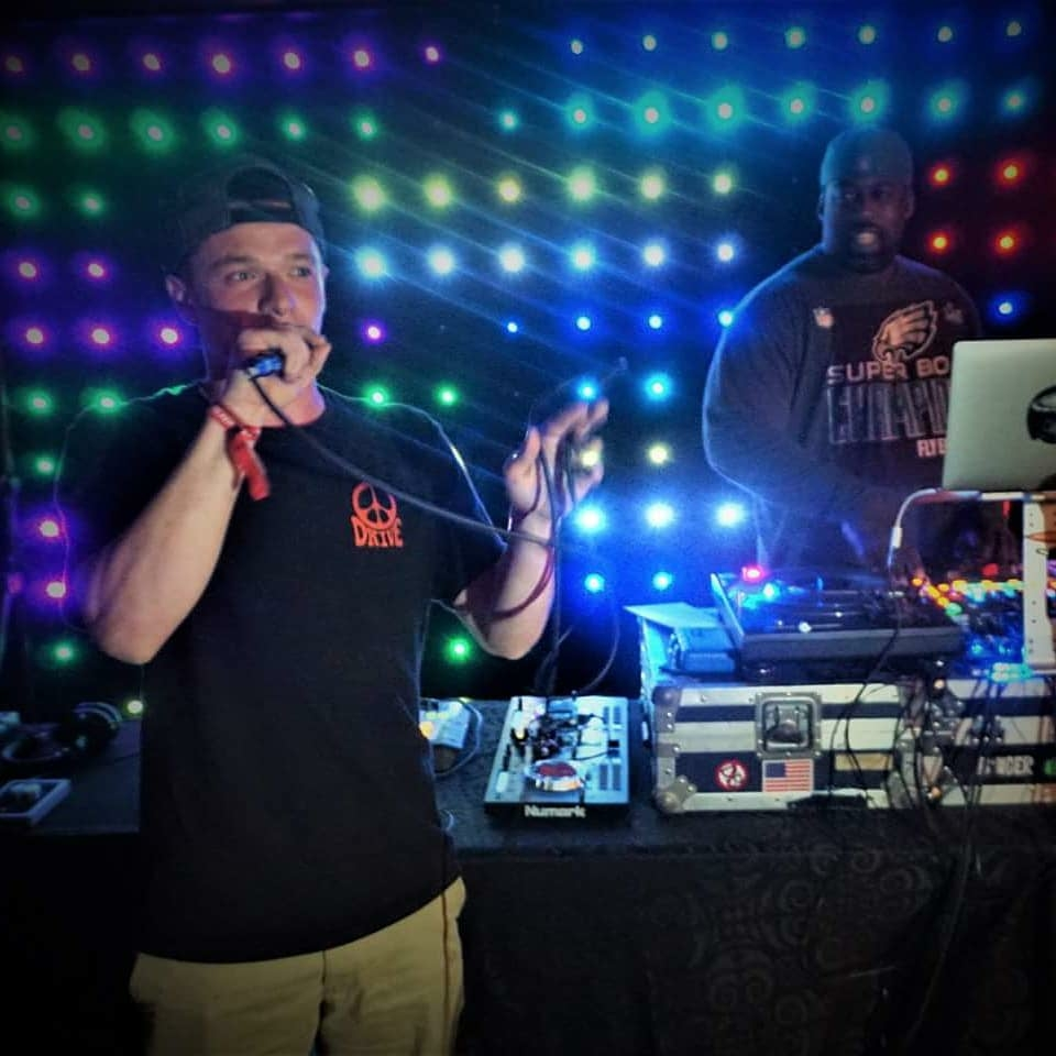 """Photo:  Drive  (and  DJ Mike """"Philly"""" Fulton! ) courtesy of   Brett North Photography"""