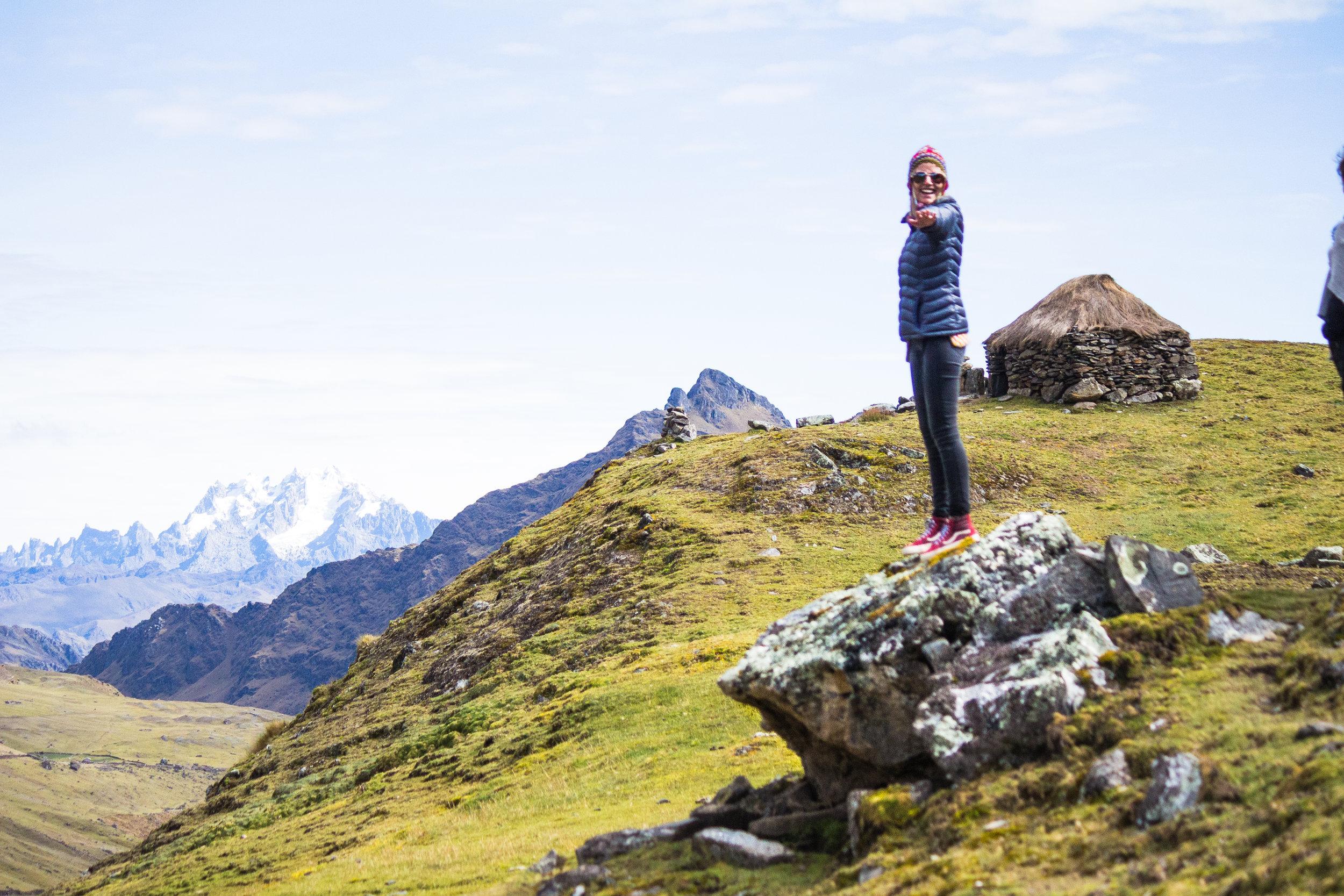 Andies Mountians, Cusco Peru.