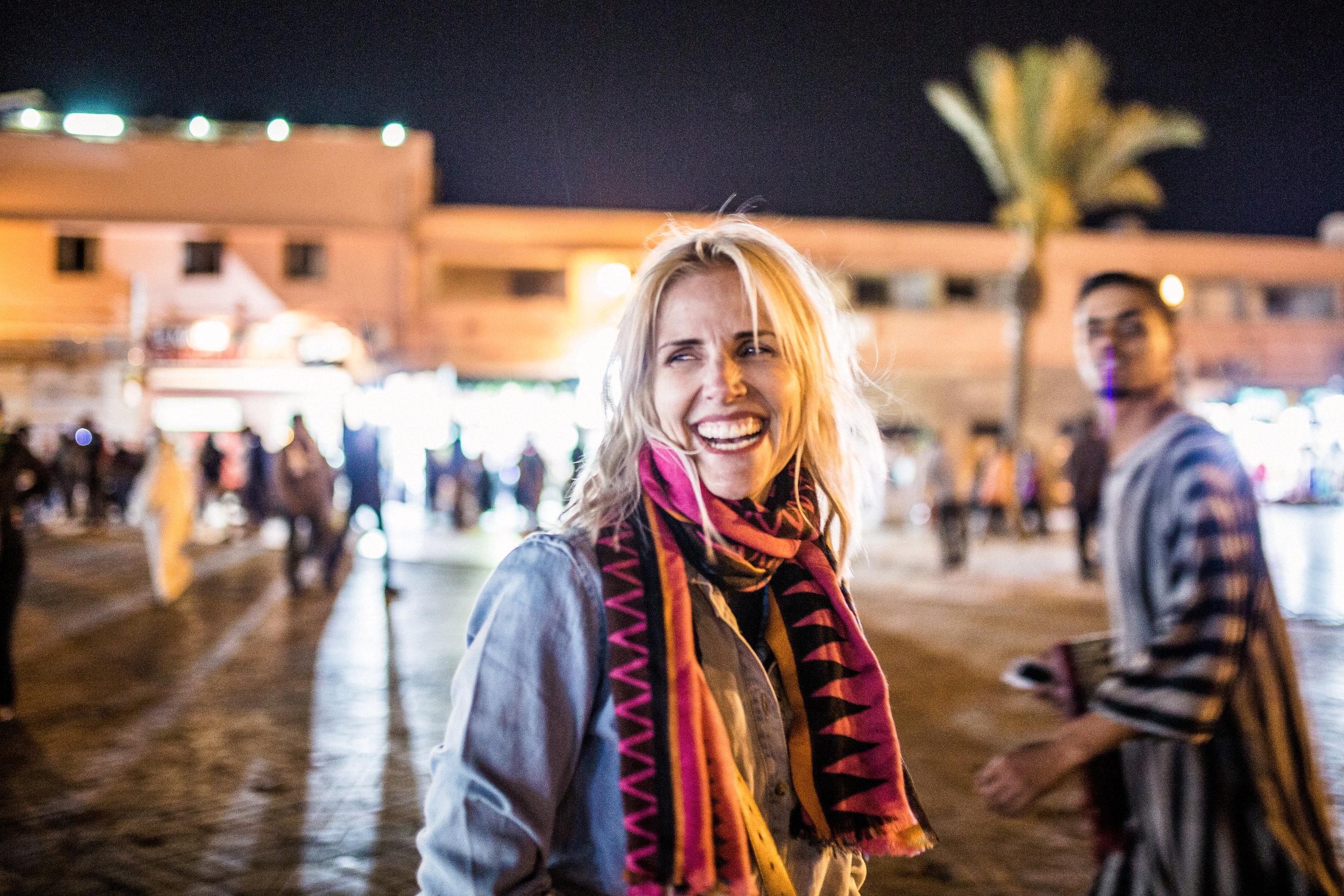 The Square in Morocco