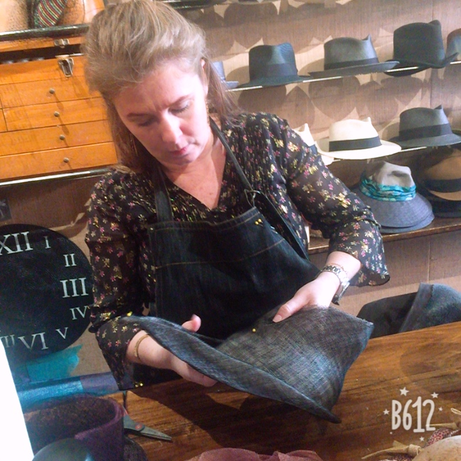 NYC East Village Hats Learn to Sculpt and Freeform Sinamay Masterclass with Jaycow Millinery.JPG