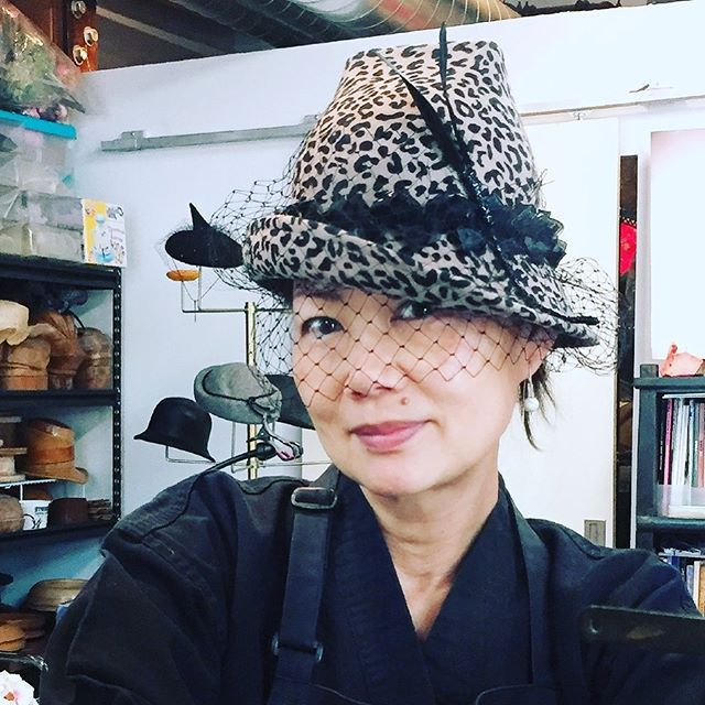 Custom piece , will miss this baby ! @thrillofascot @greenweedstakes @woodbinetb #queensplate #ascothats #racingfashion #millinery#帽子作家 #帽子識人 #bespokemillinery #torontofashion #handmadeintoronto #canadianmilliner #yyzmakers #customhats #handmade #felthats