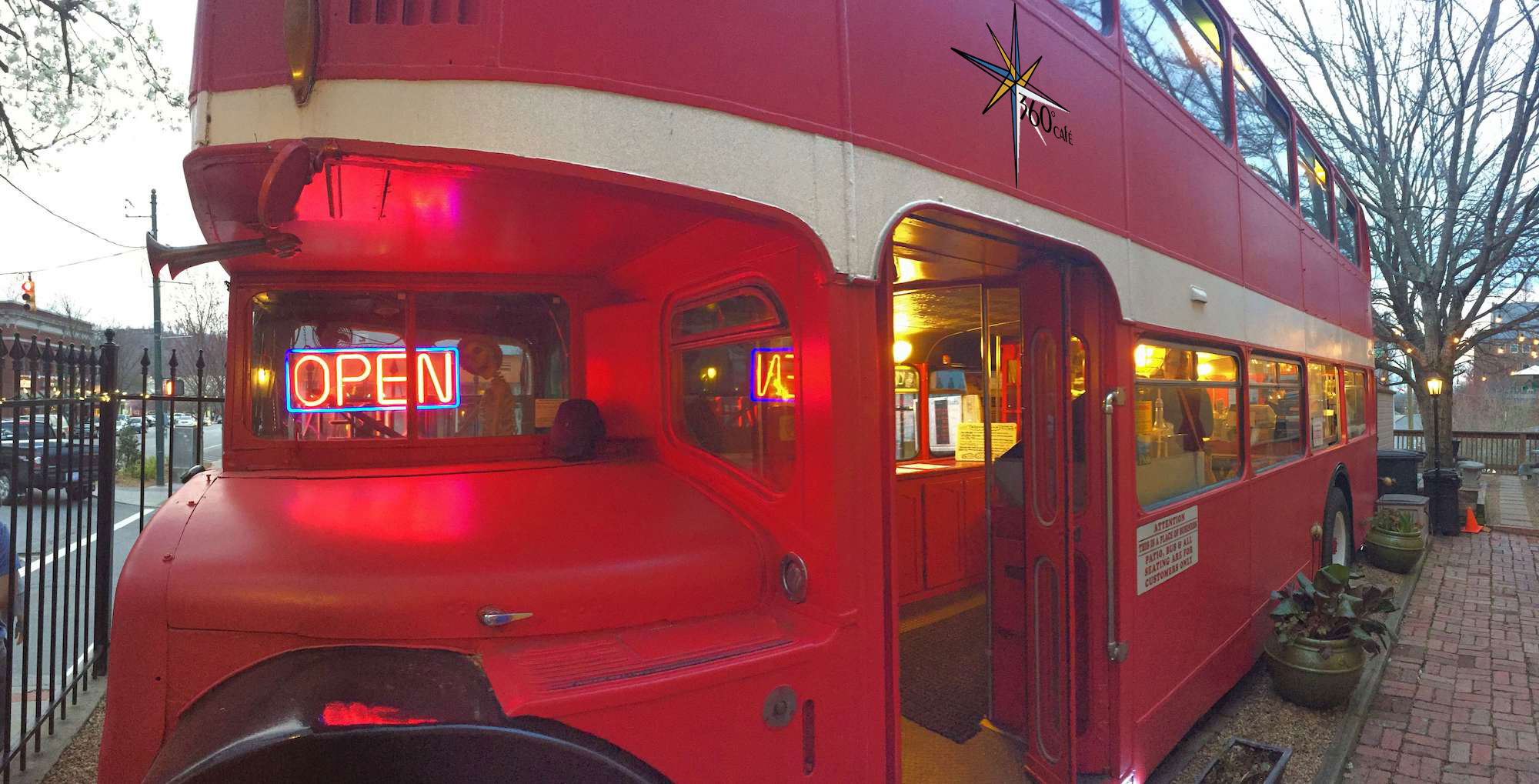 OR - A DOUIBLE DECKER BUS?