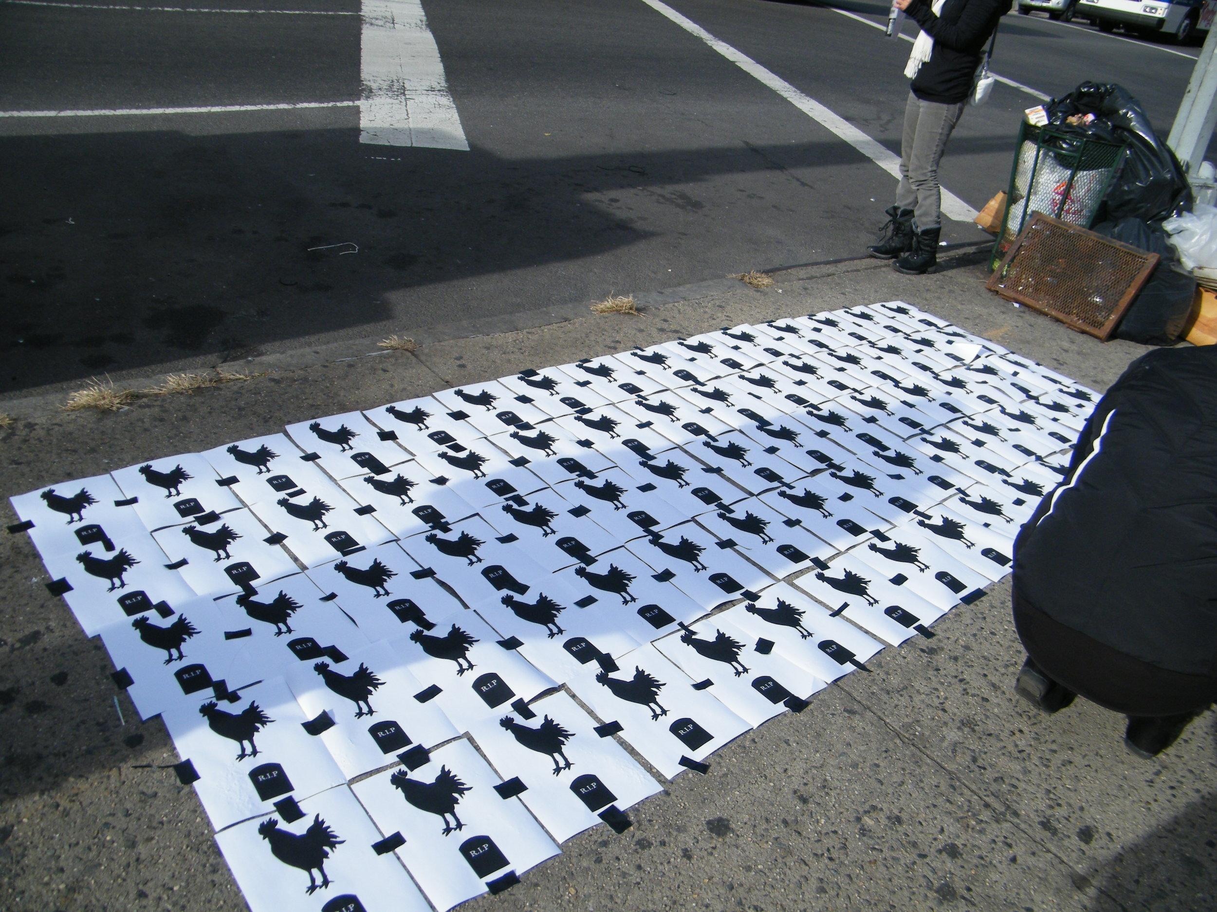 Vigil in NYC