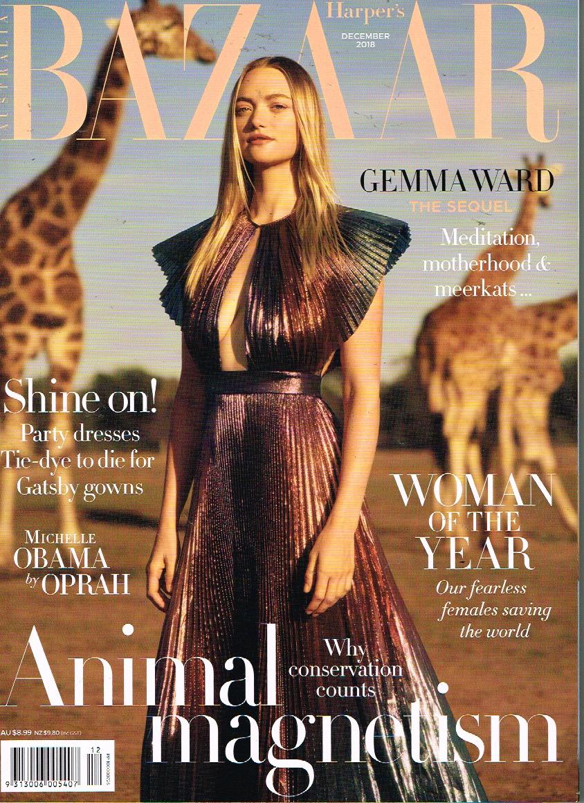 Harper's Bazaar - December 2018