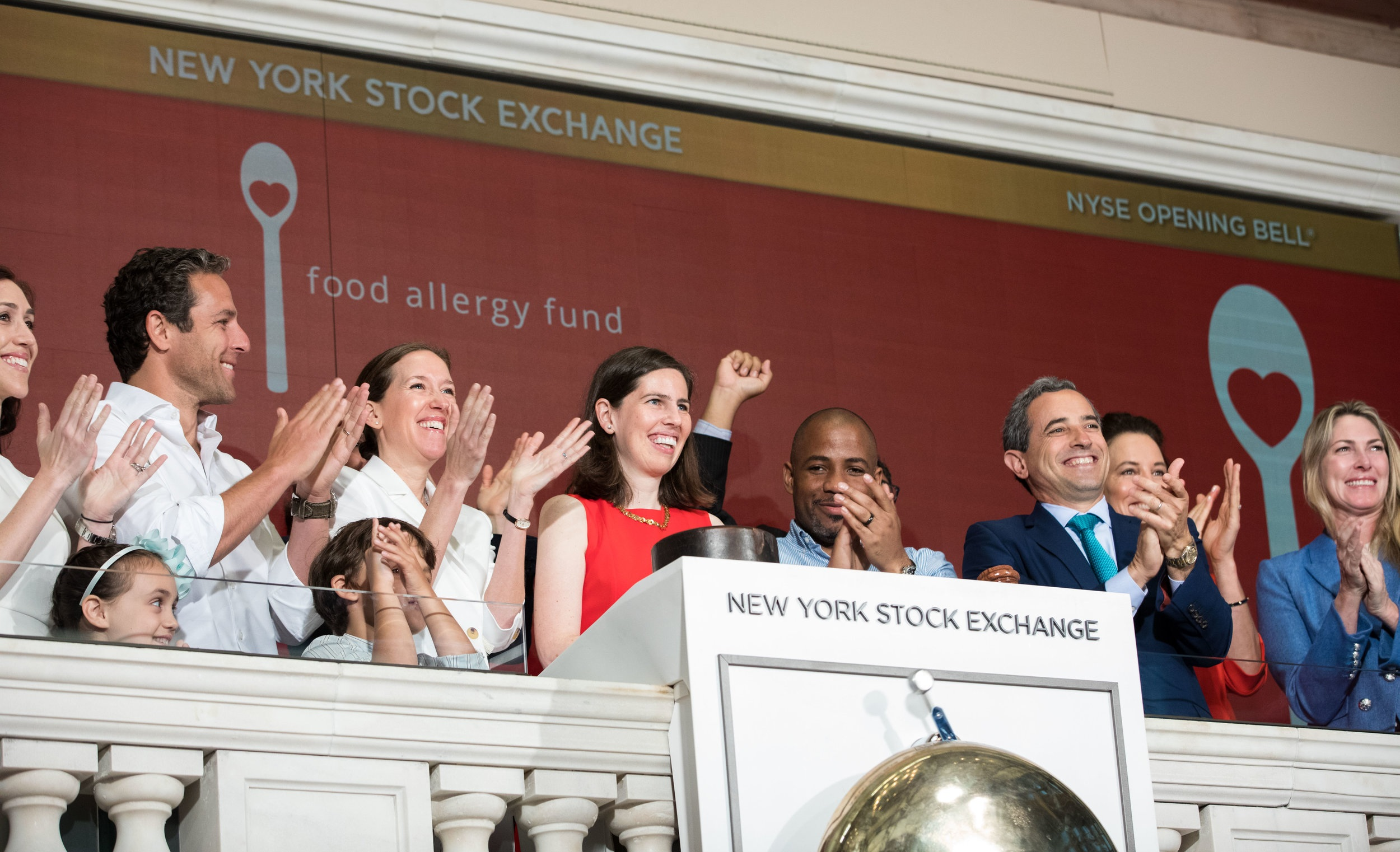 FOOD ALLERGY FUND RINGS NYSE OPENING BELL -