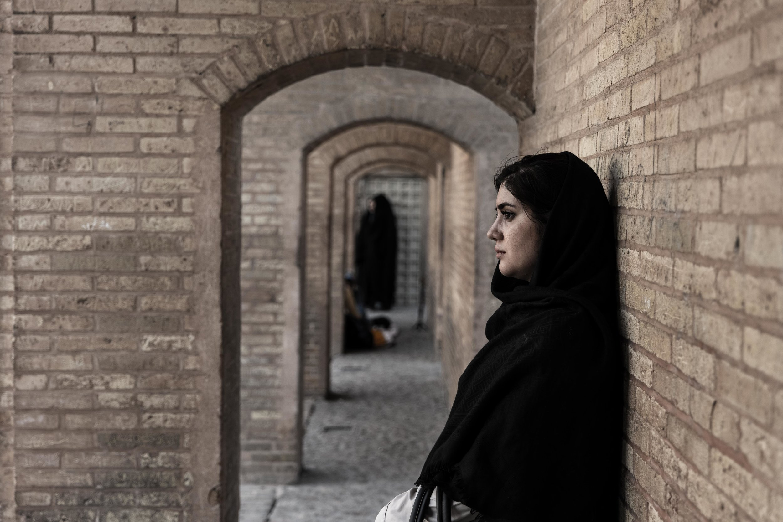 From Khaju bridge in Isfahan
