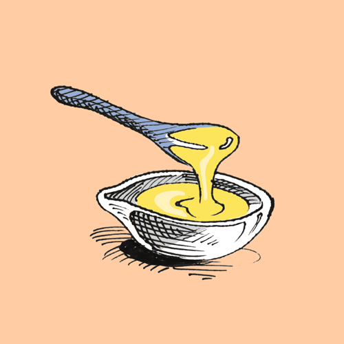 Food illustration of ghee.