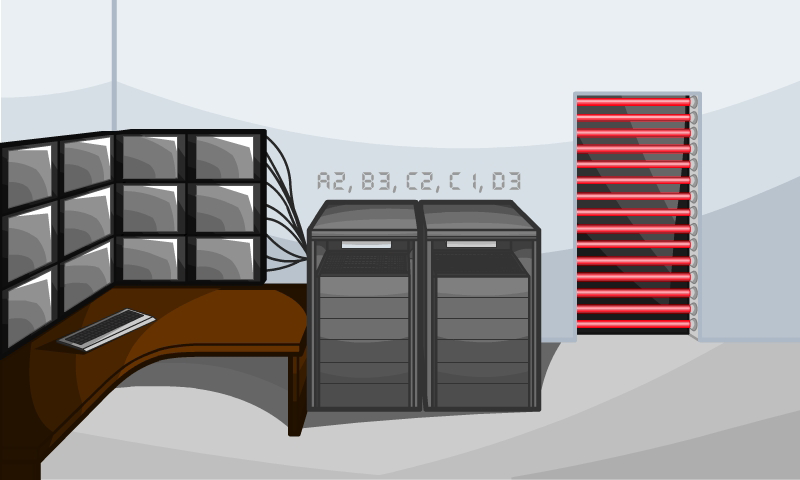 Server Room (Level 4)
