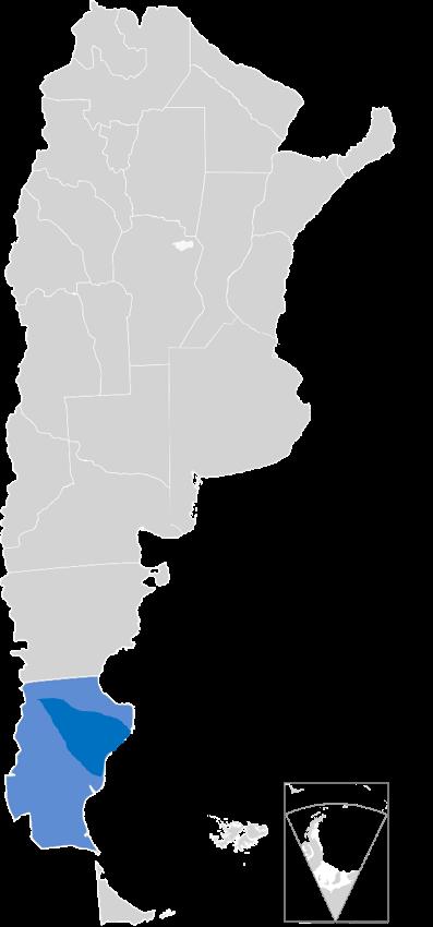 Santa Cruz, Argentina Deasado Massif