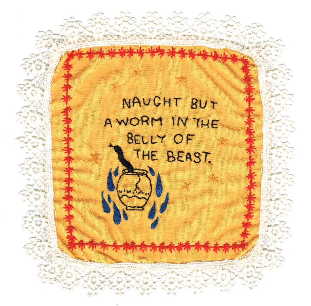 Embroidered Confession (#2)