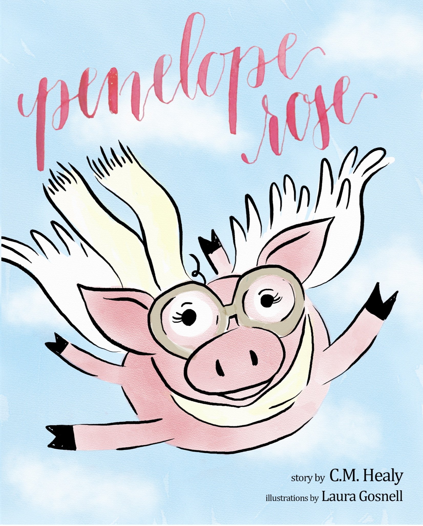 Penelope Rose is peculiar. But that's never bothered her. Not one bit.  Worried parents or teasing friends, Penelope Rose doesn't let anything get her down. She just keeps right on going. And she uses what makes her different to be daring--rising up to be what only she can be--a beautiful, one-of-a-kind flying pig. 6+ years