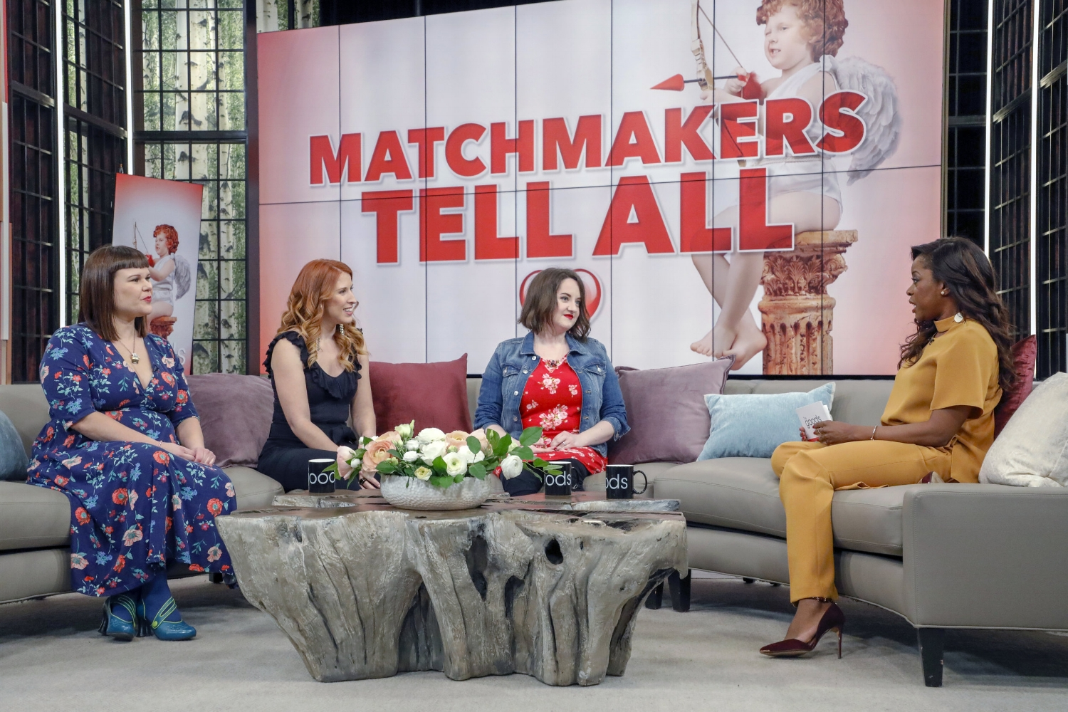 Matchmakers Sofi Papamarko, Lee-Anne Galloway, Claire AH and Andrea Bain dish on The Goods.