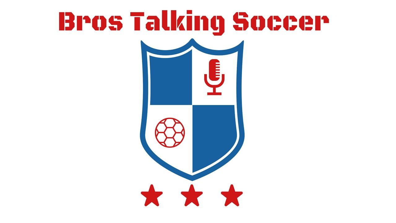 Bros Talking Soccer Podcast Logo