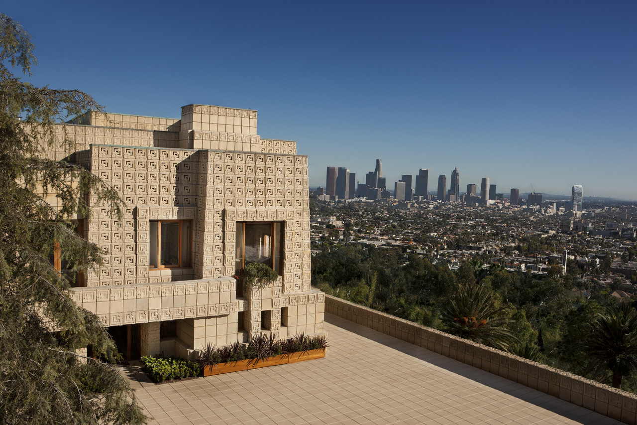 THE ENNIS HOUSE IN LOS FELIZ HILLS, LISTED AT $23M.