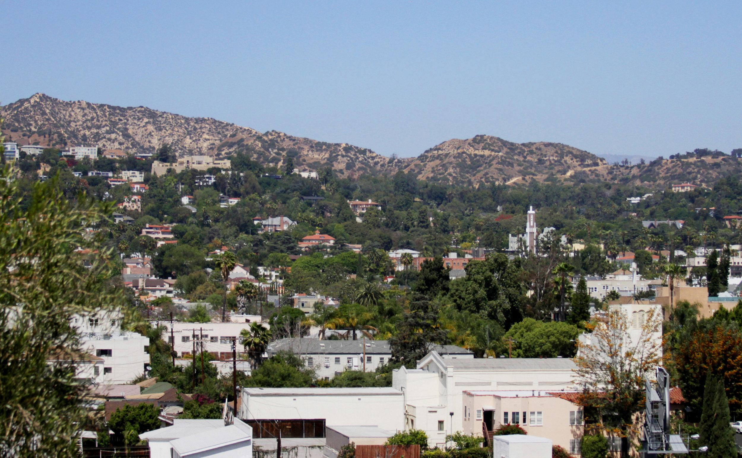 Homes in Los Feliz Hills