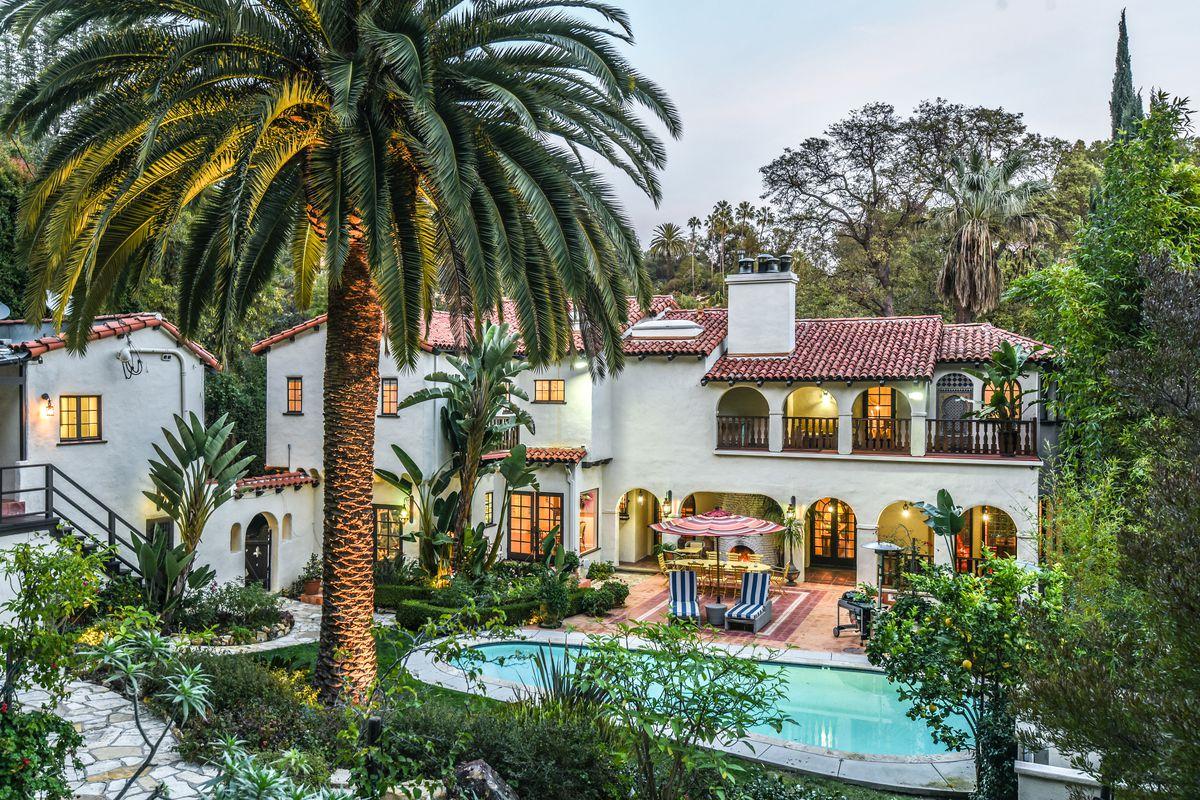 Spanish home in Los Feliz