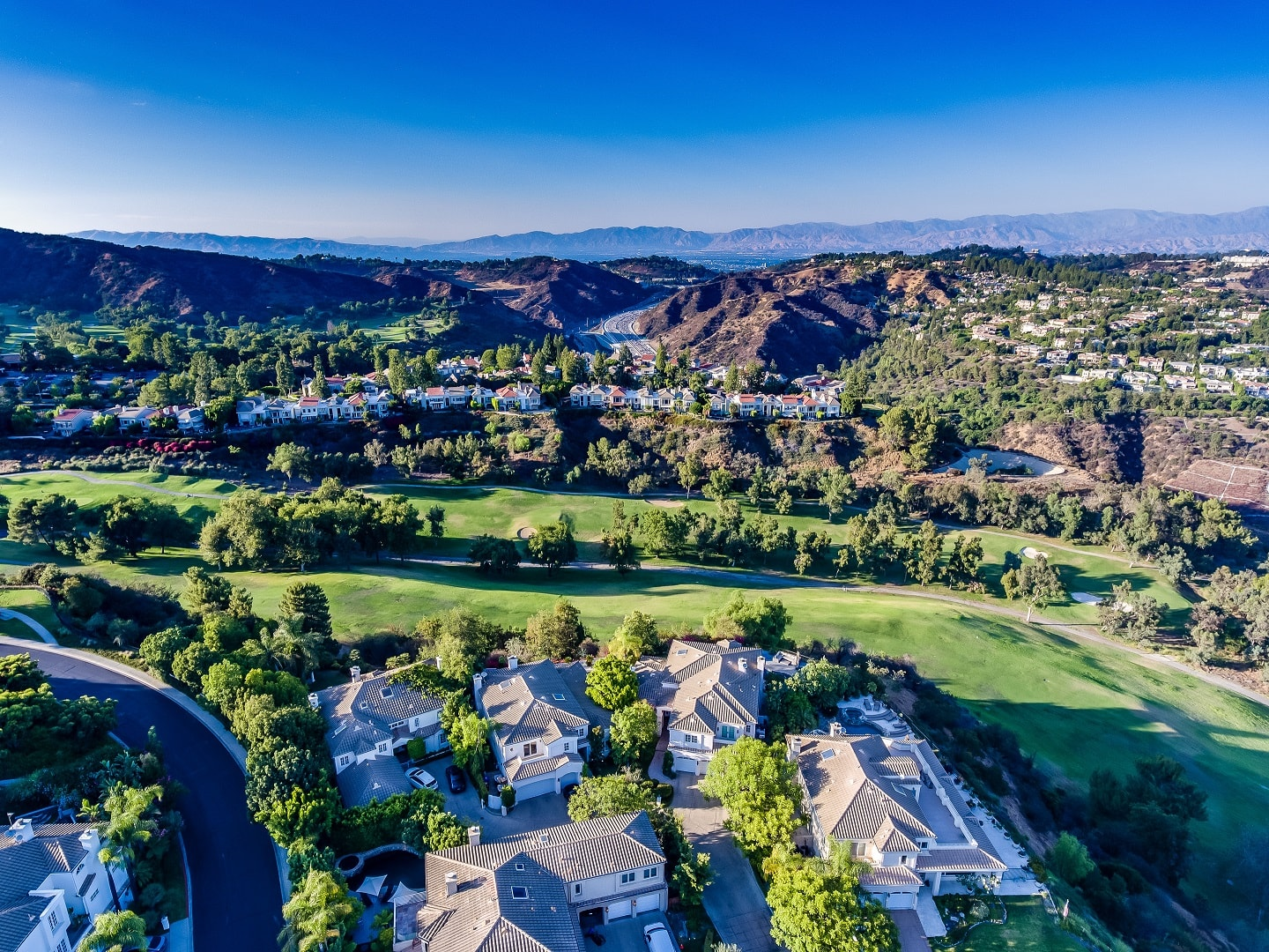 Mountaingate Gated Community in Brentwood, Los Angeles