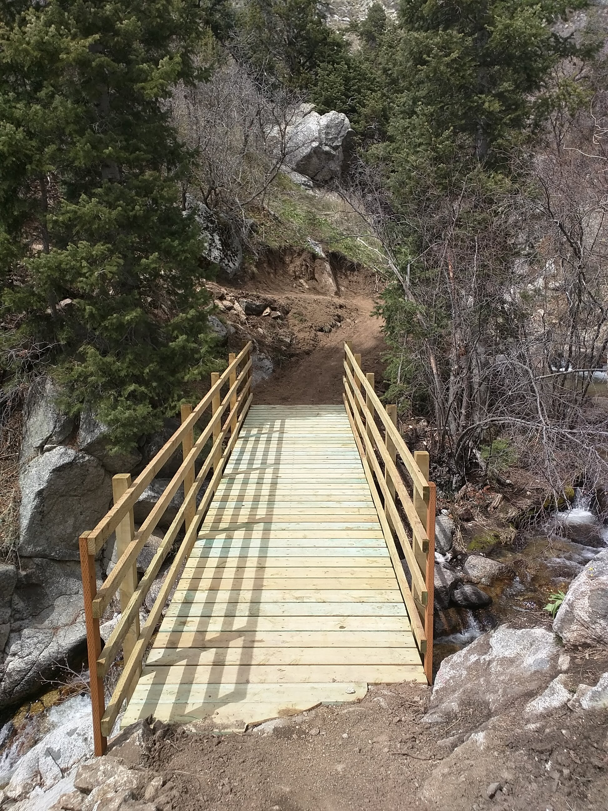Three Falls Bridge