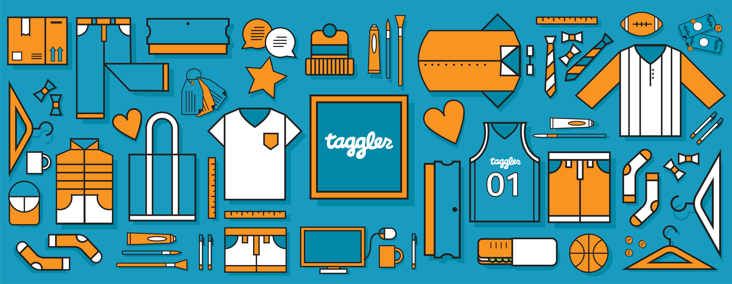 Taggler: Illustrations and Icons