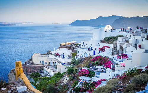 A beautiful coastal city