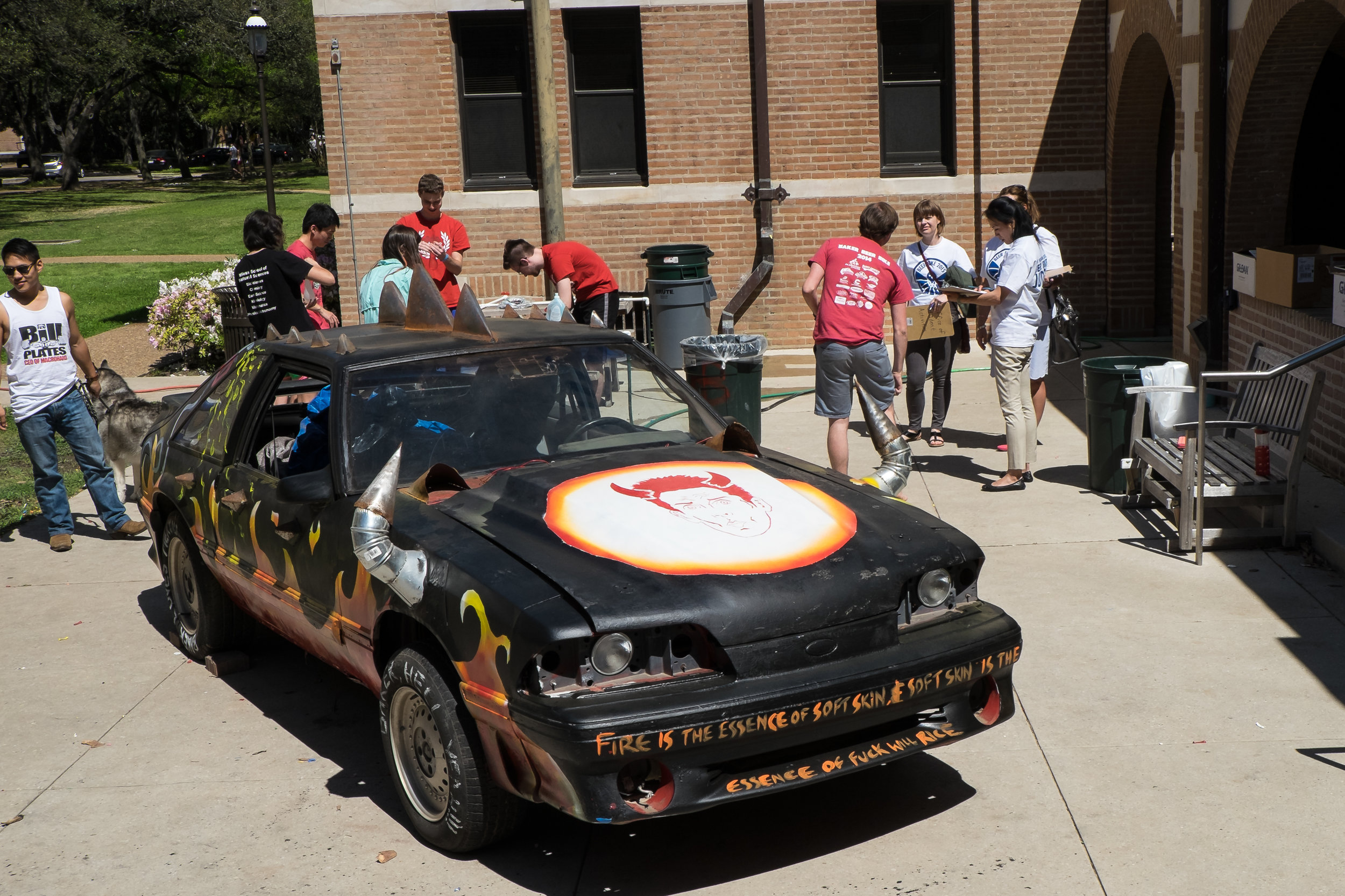 The Baker Hell Car from Beer Bike 2015