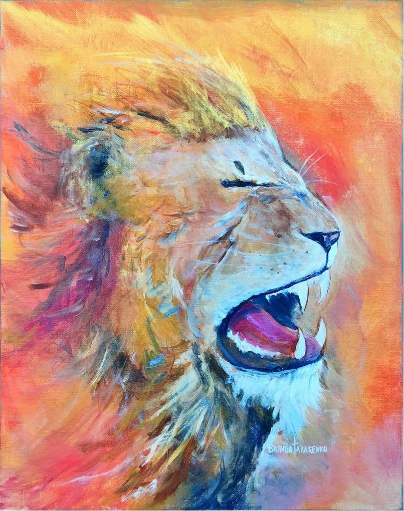 Lion of Judah Roaring!