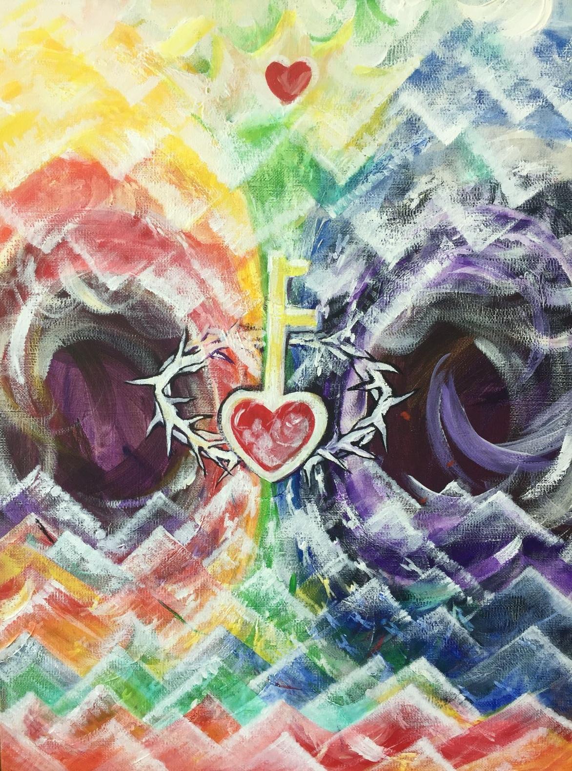 Key is Jesus!