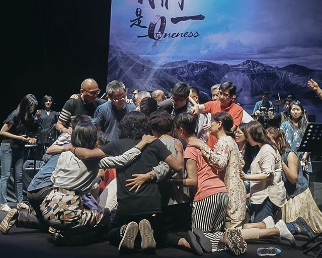 Last night, the Chinese family entered into a position of total surrender, both individually and corporately, before the one true King; Jesus. Together, we all declared that He, and He alone, has true Lordship over our lives and over the Chinese family. We publicly covenanted with God, (and with one another,) asking Him to circumcise our hearts, cutting away all that defiles; all that represents the lower earthly realms. We declared that we belong to His higher Kingdom. As ambassadors of God's Kingdom on earth, the Bride of Christ, we no longer want any compromise in our lives.  Join us for our next session in 1 hour.