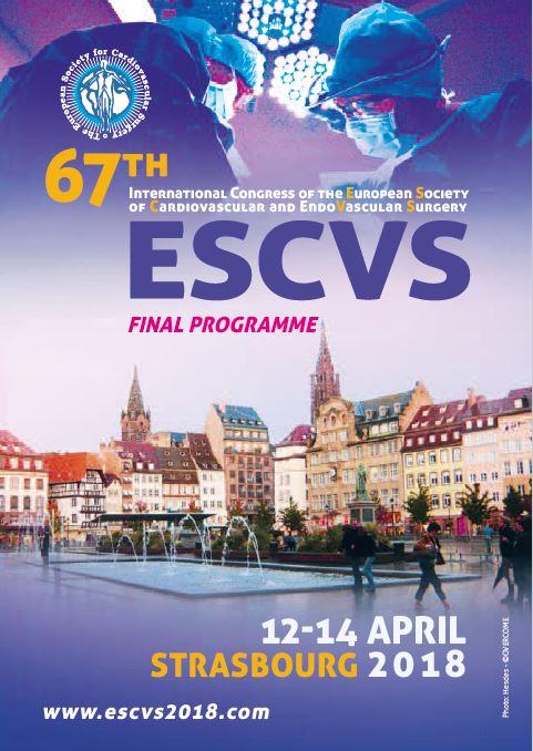 ESCVS 2018 (12-14 April) FINAL PROGRAMME