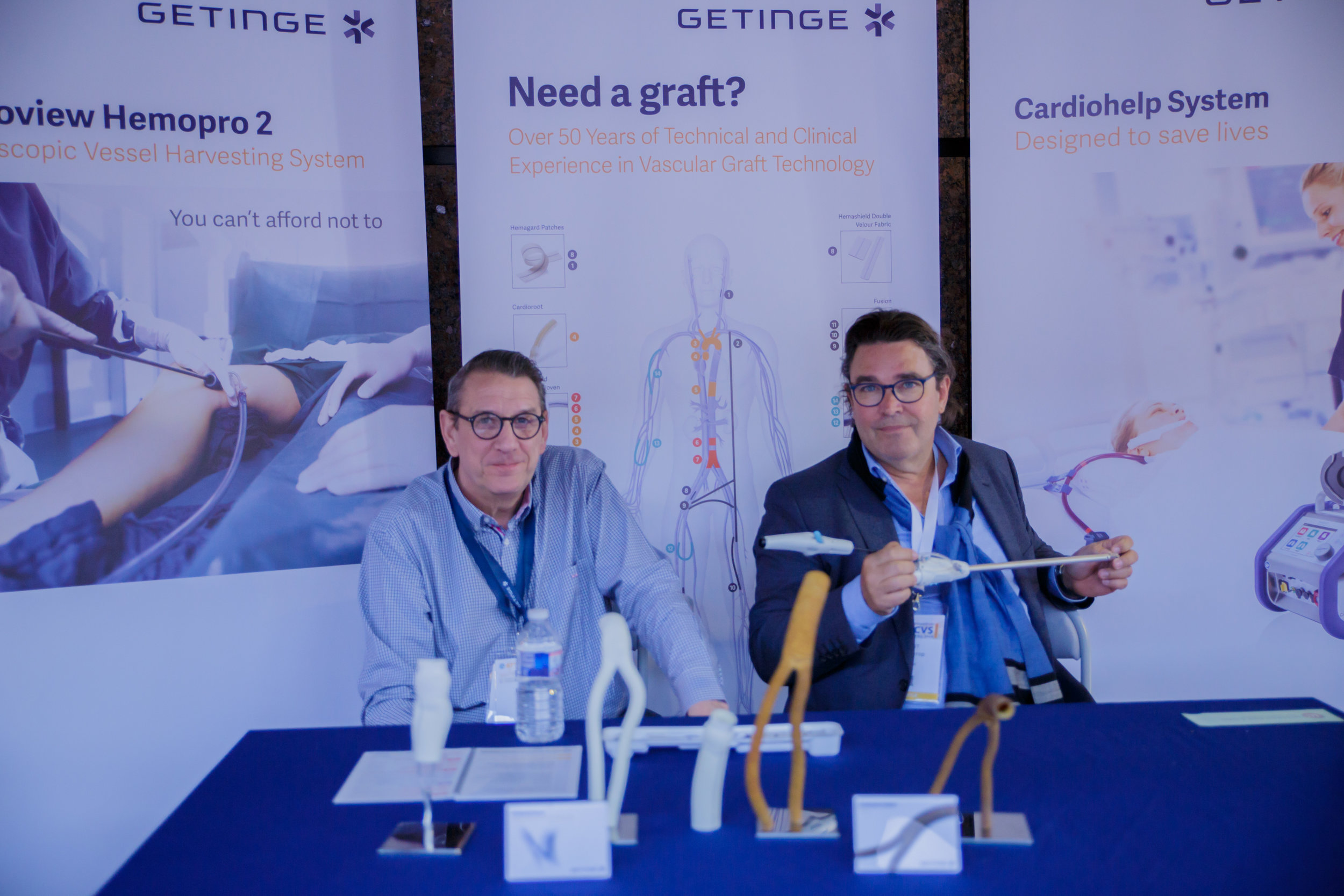 getinge at the  67th International Congress of the European Society of Cardiovascular and EndoVascular Surgery