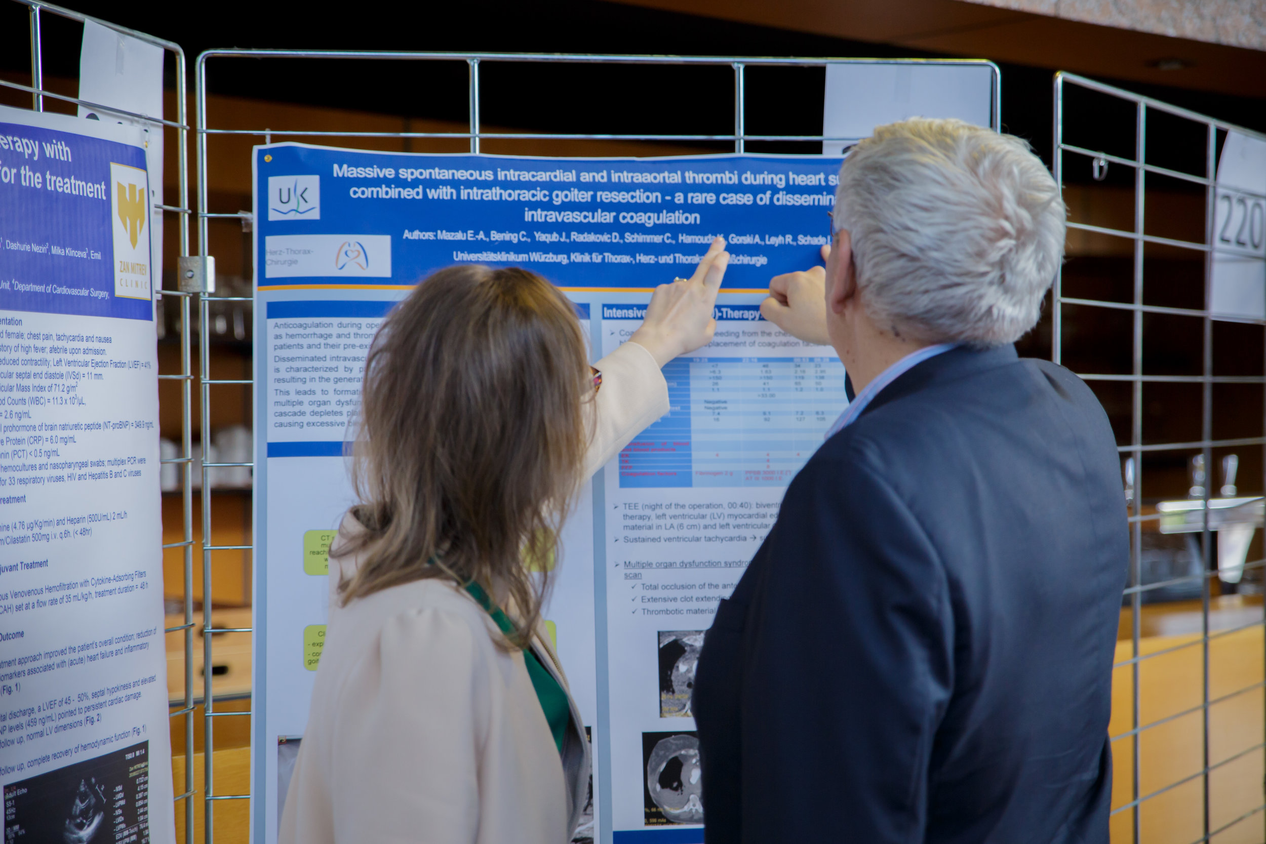 Poster Abstract at the 2018 ESCVS Conference being held in Strasbourg