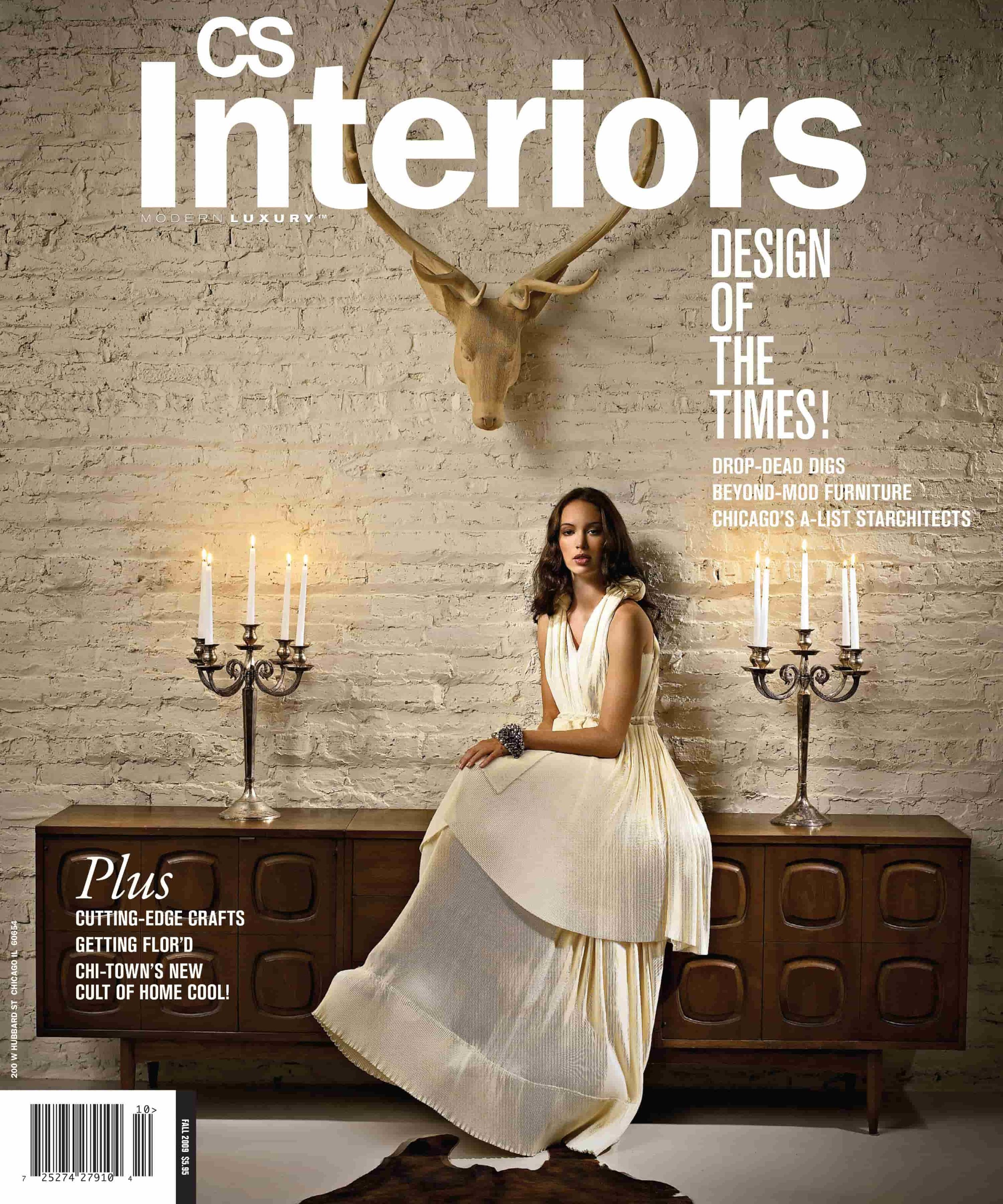 CS Interiors magazine cover 2009
