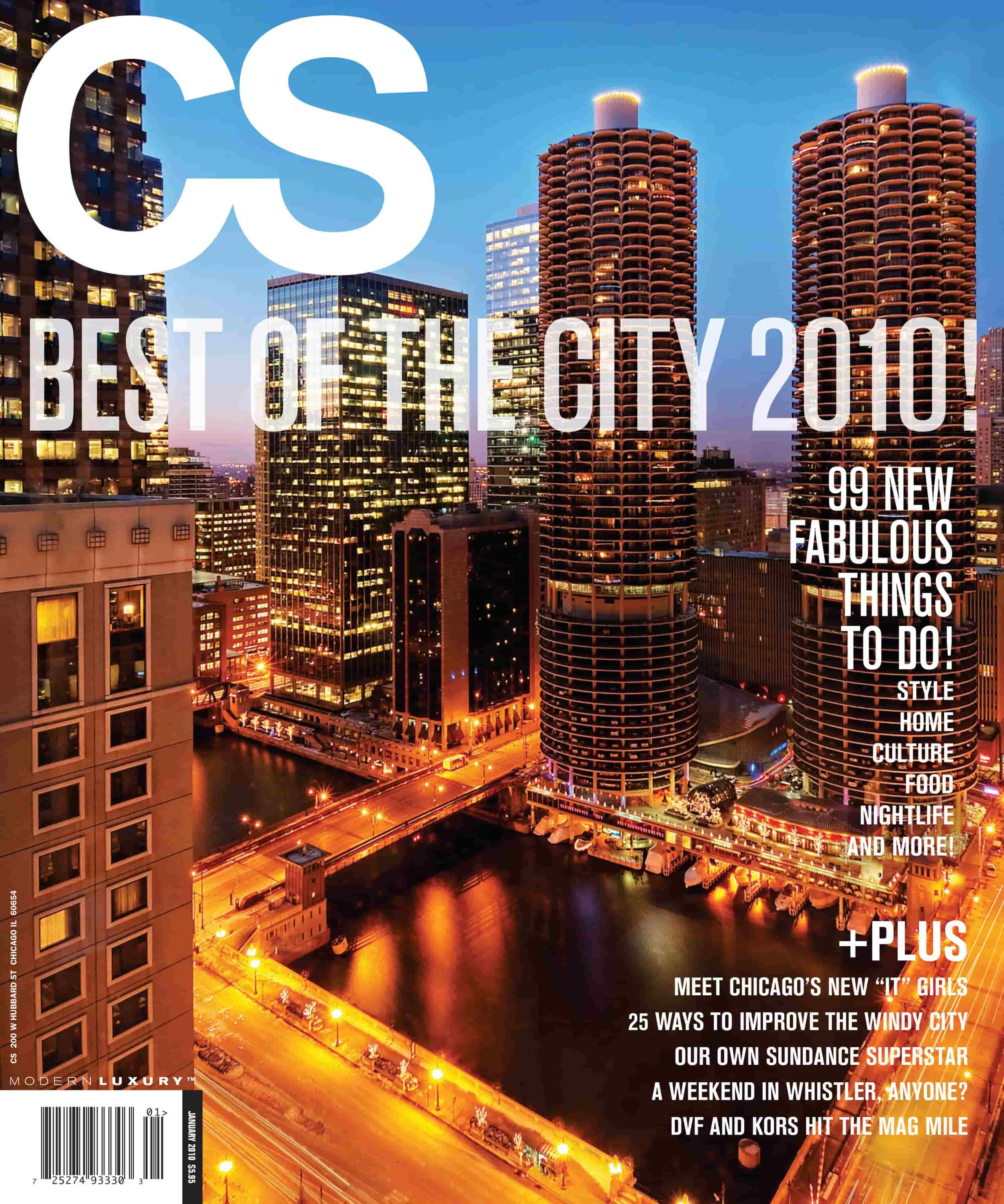 CS Magazine cover 2010