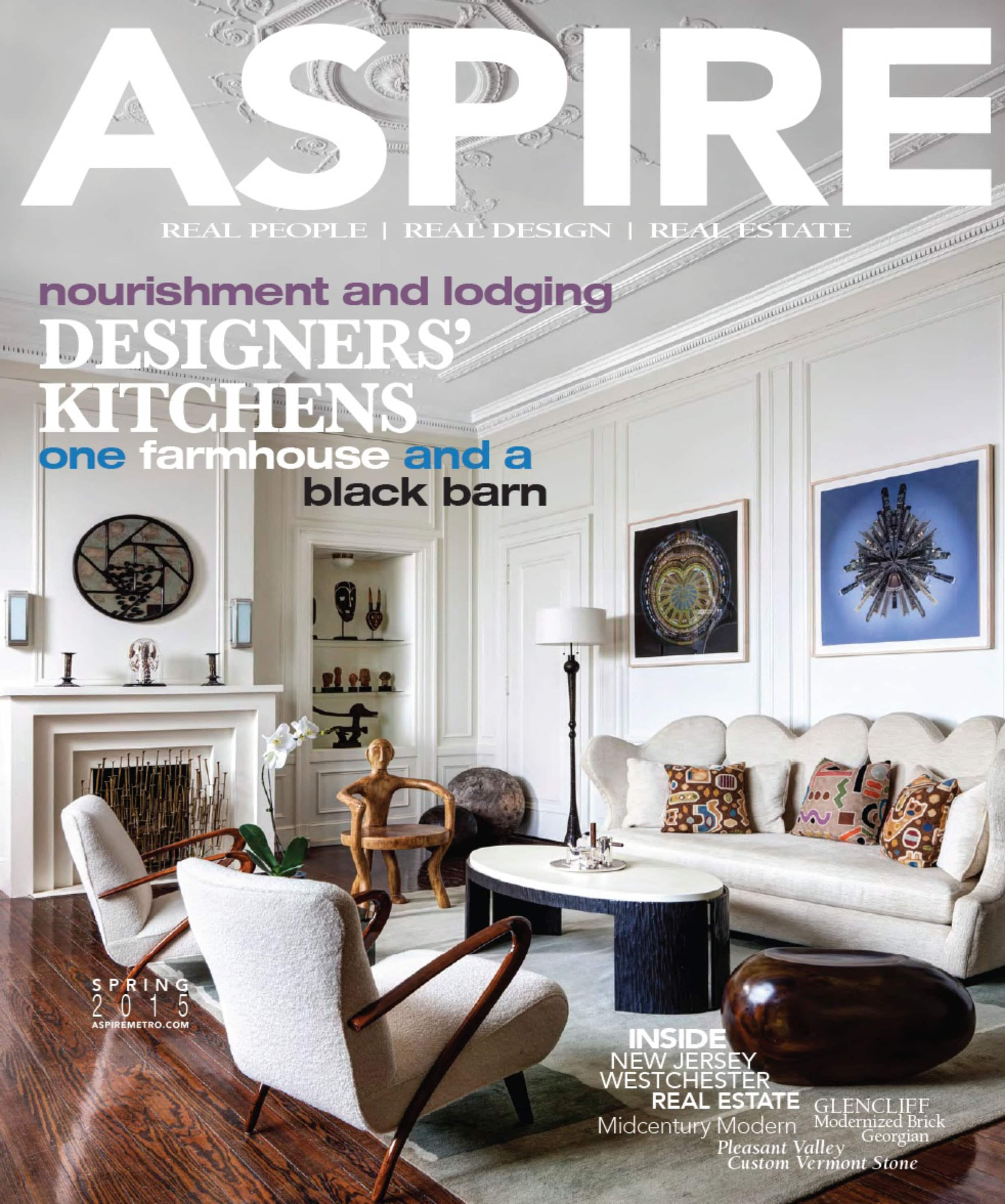 Aspire Magazine cover 2015