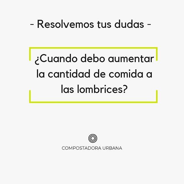 DUDAS RESUELTAS - Nuestra amiga Laura tiene su #compostadoraurbana desde septiembre del año pasado. - Les echa la misma cantidad cada semana, pero por los restos que genera, le gustaría aumentarla. - Le hemos dado algunas recomendaciones. - ⤵Pincha en el link directo de la biografía para verlo y déjanos tus preguntas y comentarios. - - - - - #compostaje #compost #vermicompostaje #compostadora #sostenibilidad #huertourbano #residuocero