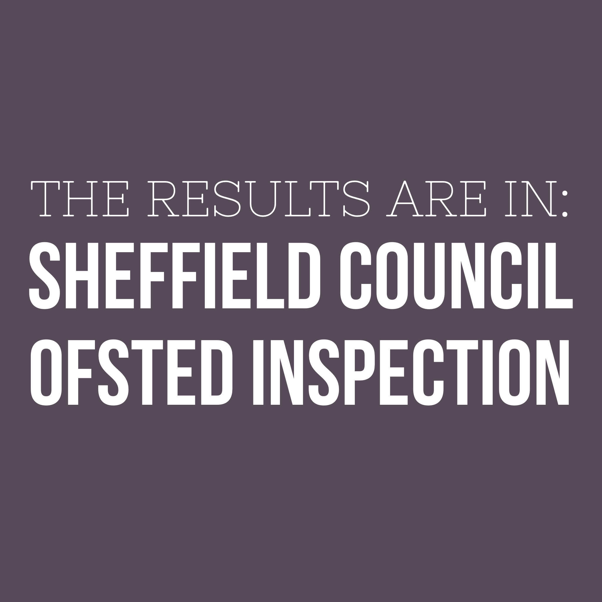 Sheffield Council Ofsted Inspection