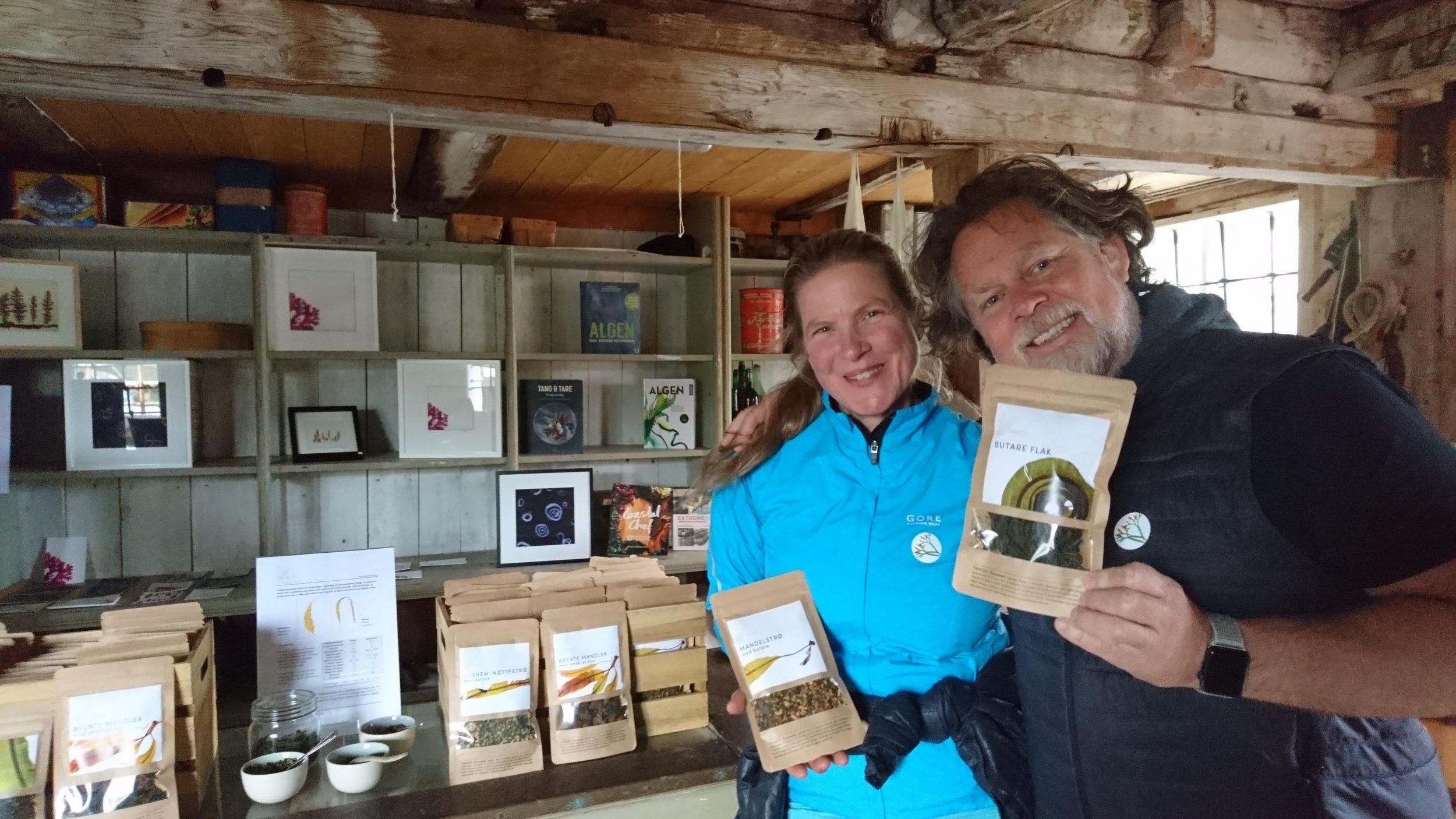 You can find our Sugar Kelp in North Sea Salt works 'Fjæra' salt (©Lovise Otterlei)
