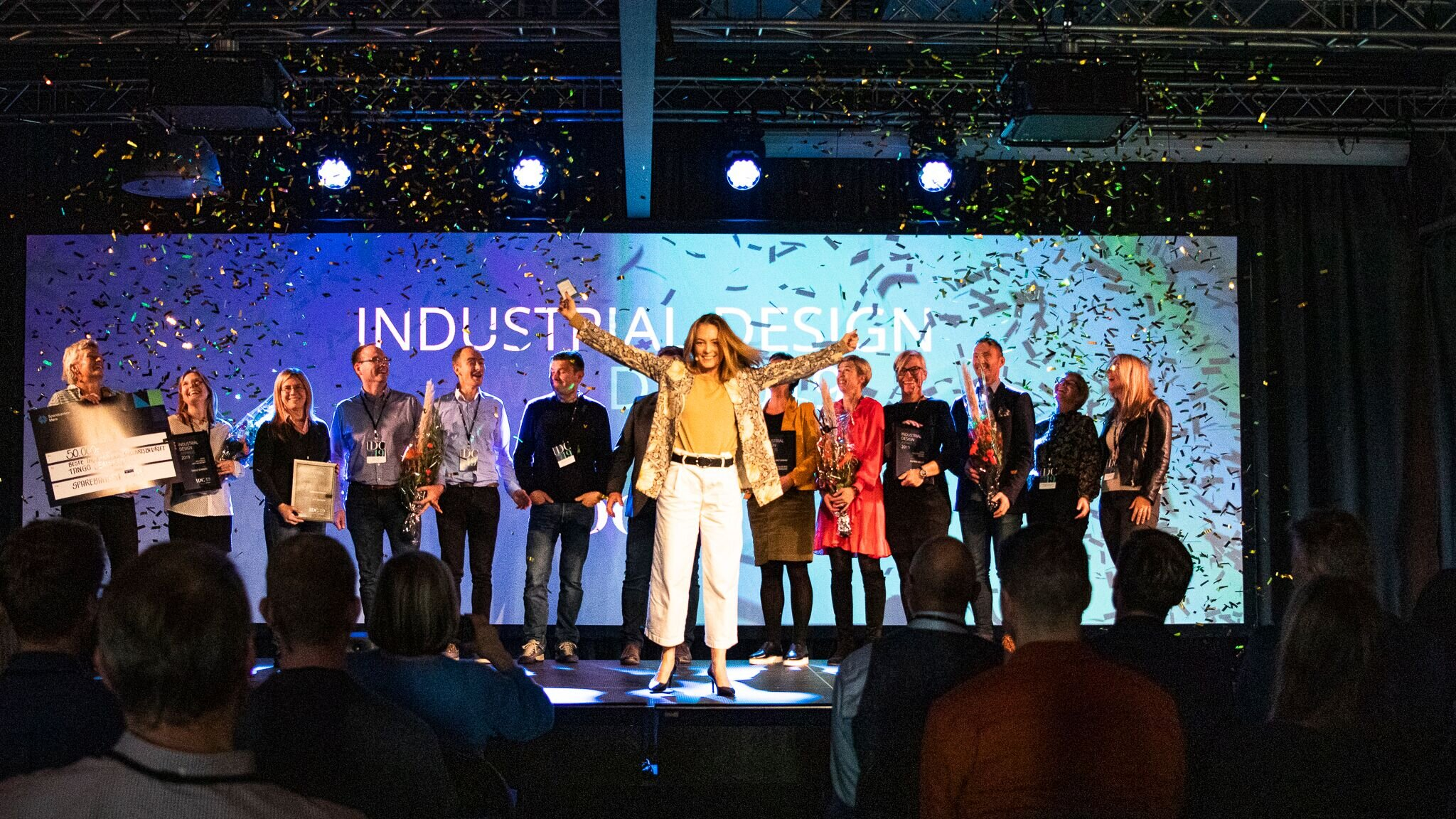 The price winners at the Industrial Design Conference 2019 at Giske, Norway. Foto: Elias Storøy (Instagram: eliasstoroy95)