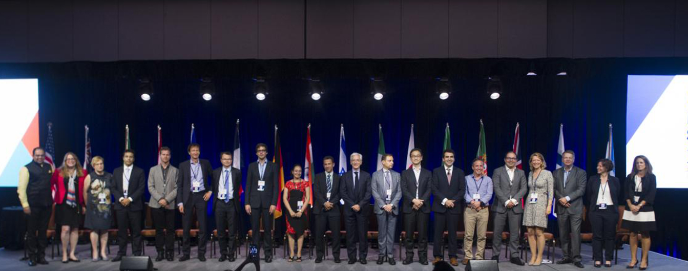 Above: Leaders of the GSG's National Advisory Boards from 17 countries (in 2017), GSG leadership, and Sir Ronald, center, vanguards of the impact investing movement, drive the Impact Revolution across the globe at the Chicago Impact Summit in 2017.
