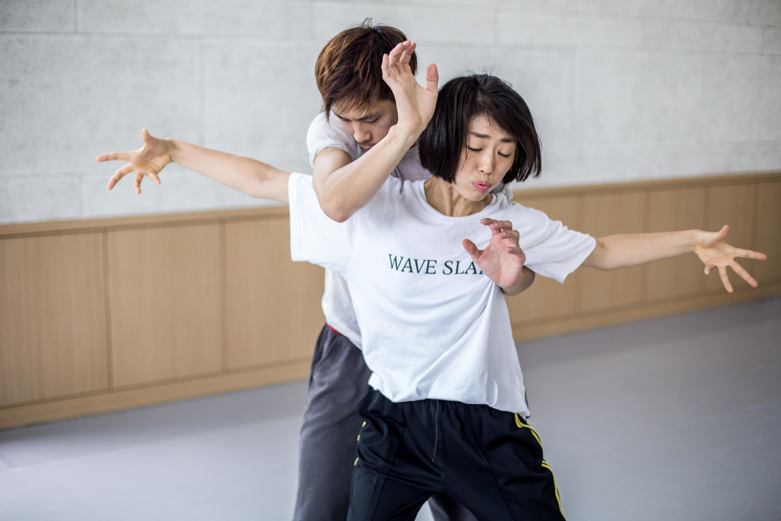 Dance Collaboration Between the company Far From The Norm and 4 Korean Dance Artists - Rehearsal Stage