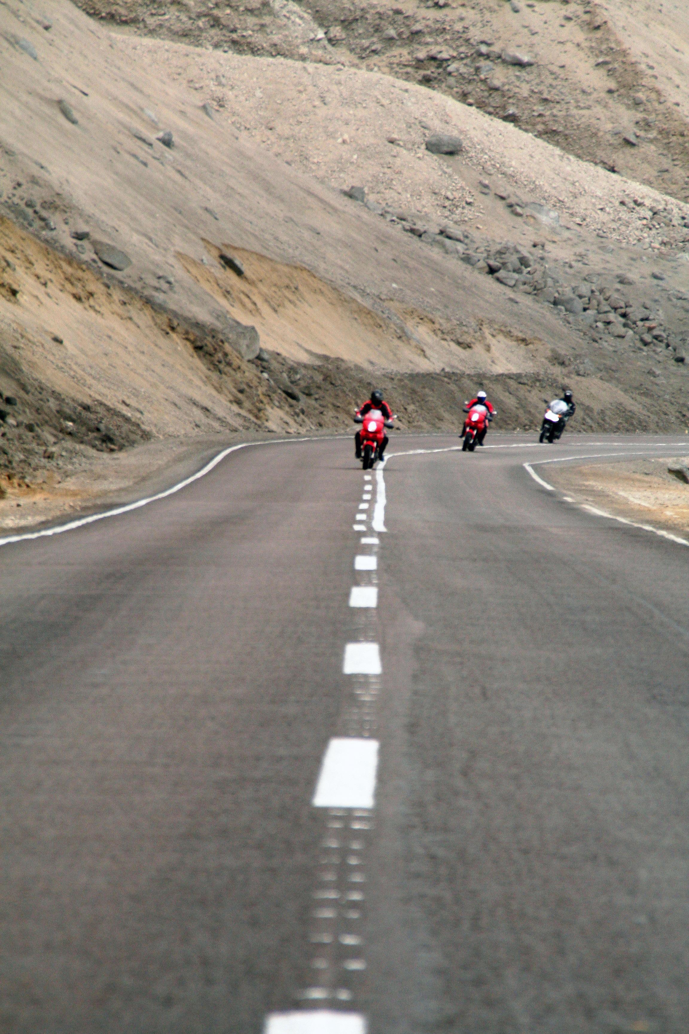 gravando os pilotos rumo ao Atacama.