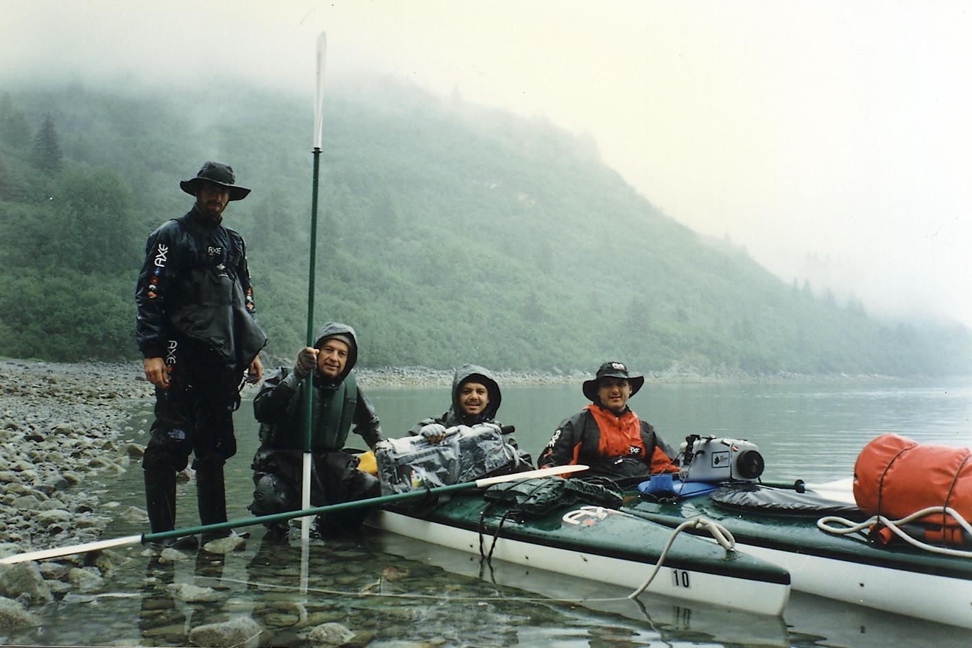 Alaska de caique/Glacier Bay/SBT Reportér/Hermano Henning foto> Ignacio Aronovich