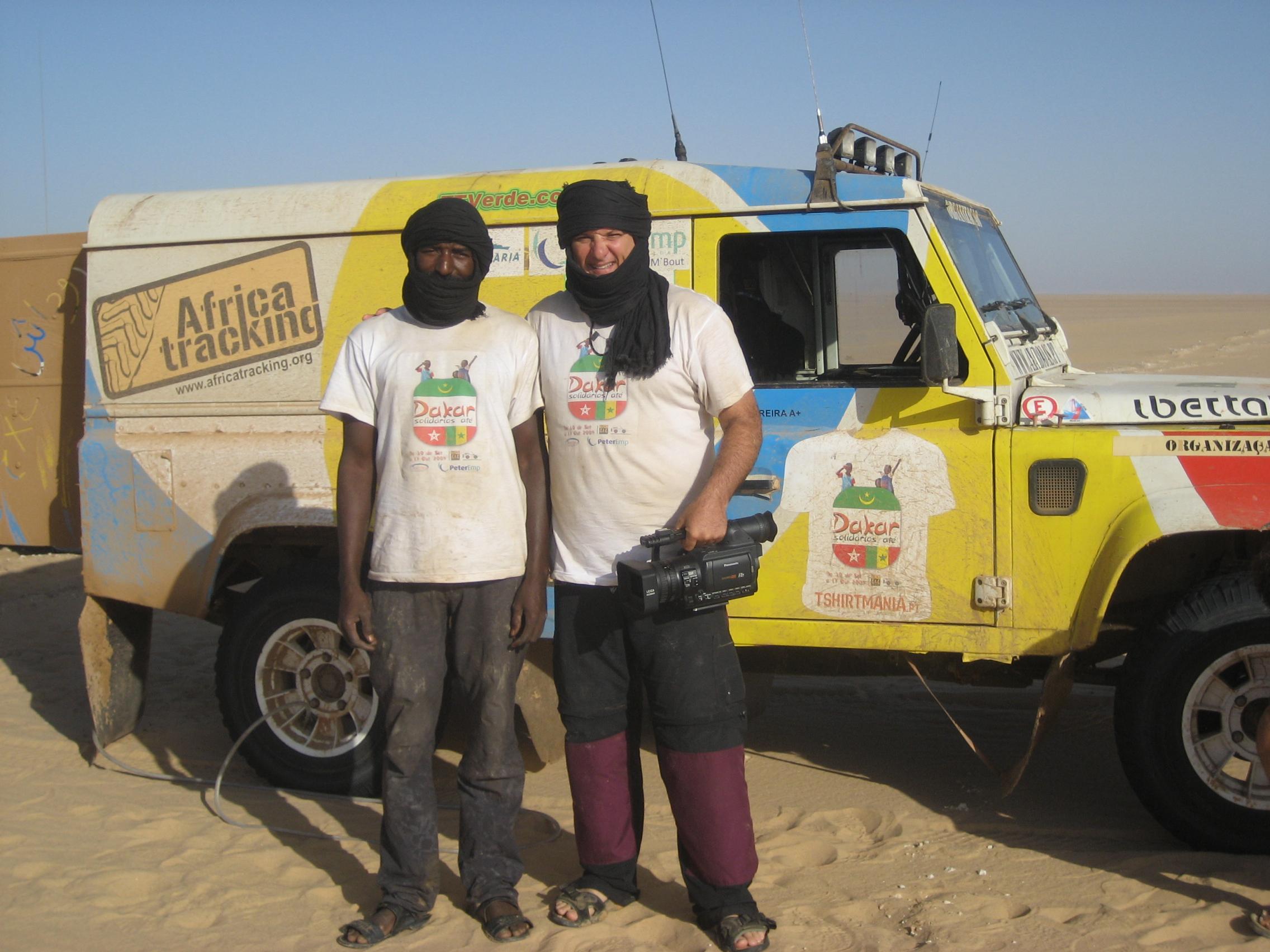 Saara, expedição solidária de Lisboa a Dakar. foto Sidi Sillah